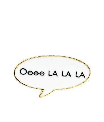 Значок-пин  Oooo LA LA LA!
