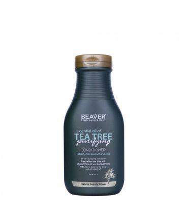 Укрепляющий кондиционер для волос с маслом чайного дерева