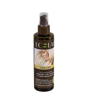Средство-спрей для укладки и укрепления волос