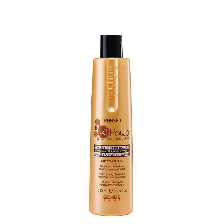 Кератиновий шампунь для волос