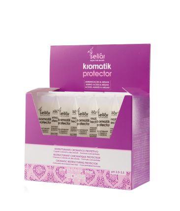 Реструктурирующий протектор для защиты цвета окрашенных волос