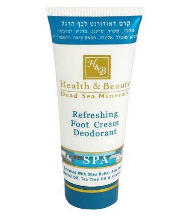 Крем-дезодорант для ног с охлаждающим эффектом
