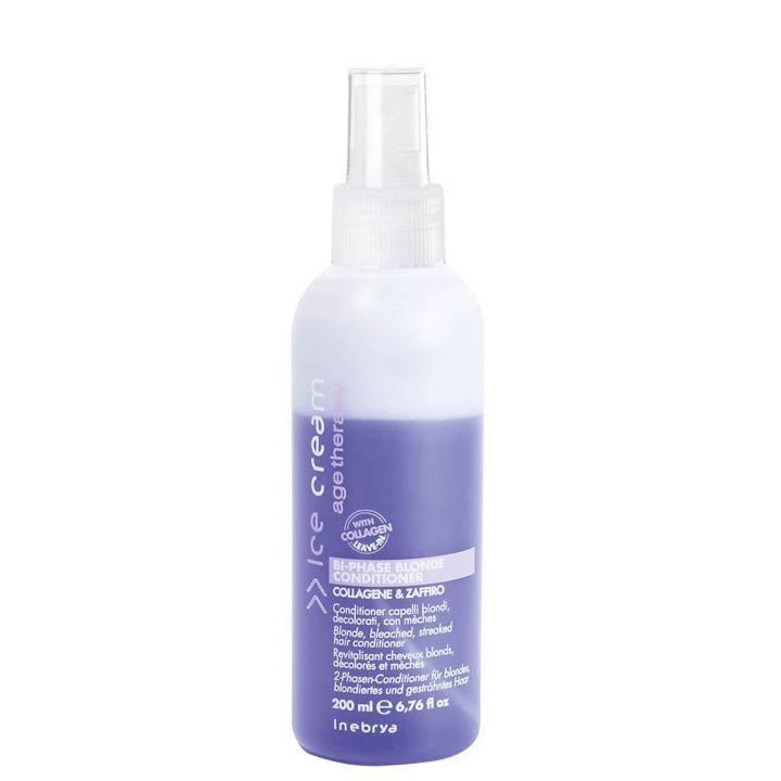 Двухфазний кондиционер для светлых волос