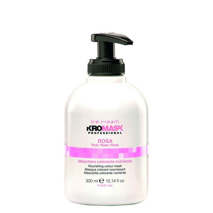 Маска для волос розовая