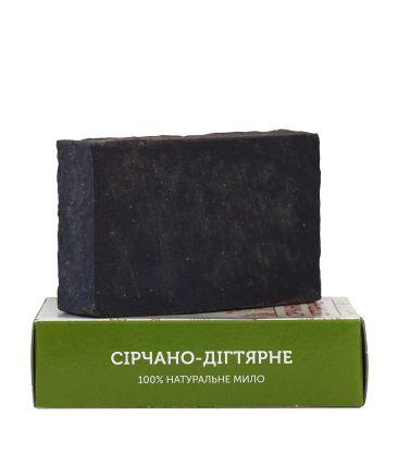 Серно-дегтярное мыло