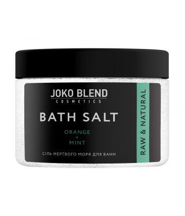 Соль Мертвого моря для ванн Апельсин и Мята