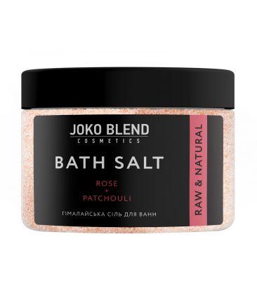 Гималайская соль для ванн Роза и Масло Пачули