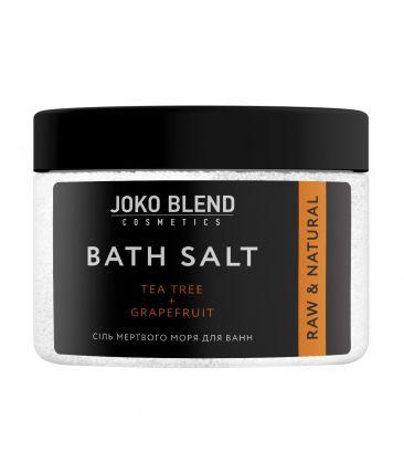 Соль Мертвого моря для ванн Чайное Дерево и Грейпфрут