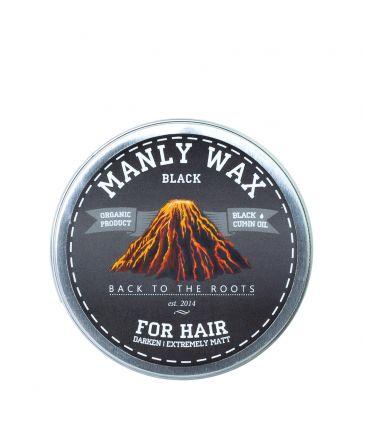 Воск для волос Black