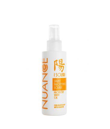 Защитный спрей для волос и тела с маслом орехового дерева