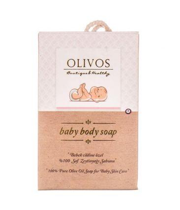 Мыло твердое натуральное Оливка (детское)