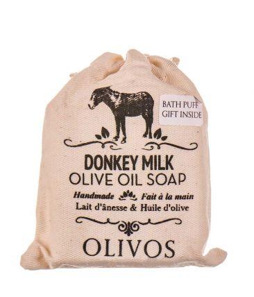 Мыло твердое натуральное Ослиное молоко