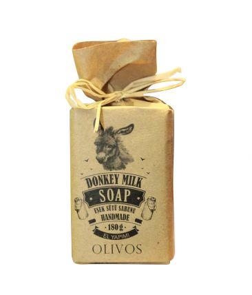 Мыло твердое  100% натуральное Ослиное молоко
