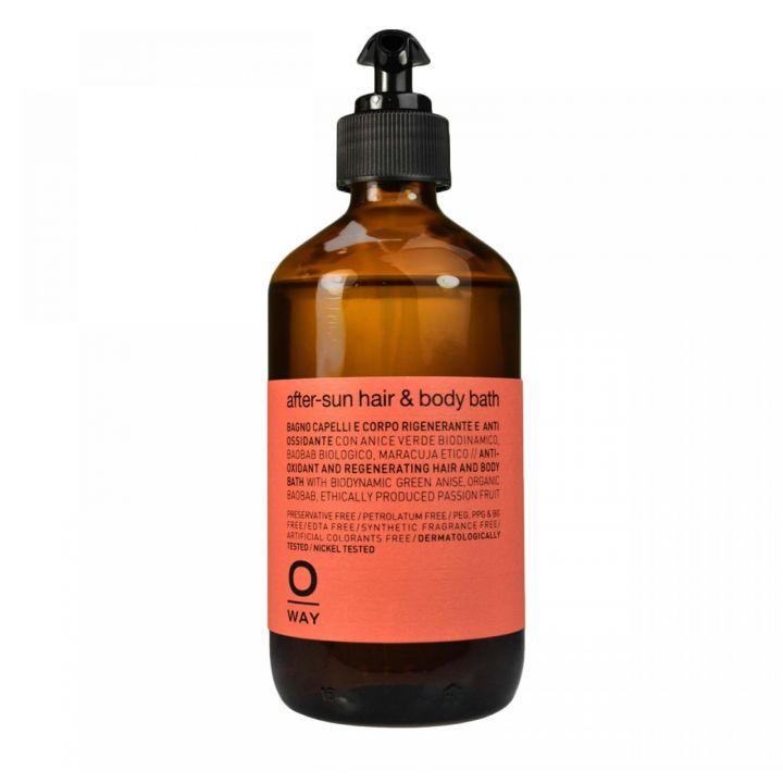 Антиоксидантный шампунь для волос и тела