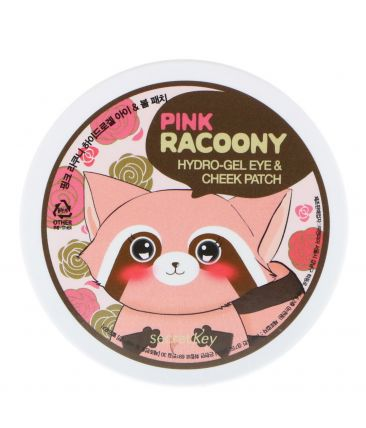 Pink Racoony Hydrogel Eye & Spot Patch