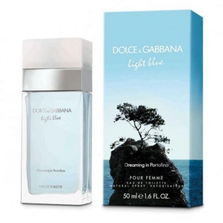Light Blue Dreaming In Portofino