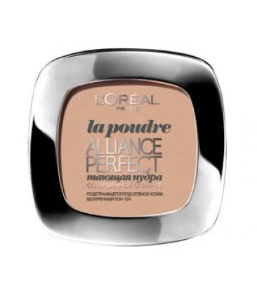 Пудра L`oreai Alliance Perfect R3 rose beige / бежево - розовый