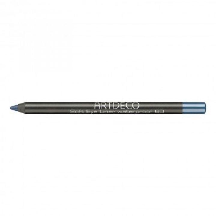 Карандаш Для Глаз ArtDeco Soft Eye Liner Waterproof № 60 Azure blue / Лазурный