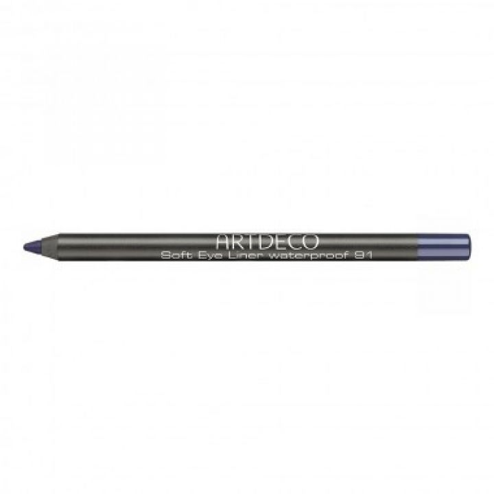 Карандаш Для Глаз ArtDeco Soft Eye Liner Waterproof № 91 Blue violet / Сине - фиолетовый
