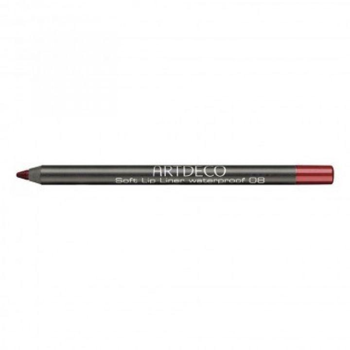 Карандаш Для Губ ArtDeco Soft Lip Liner Waterproof № 08 Medium cadmium red /  Средне - красный кадмий