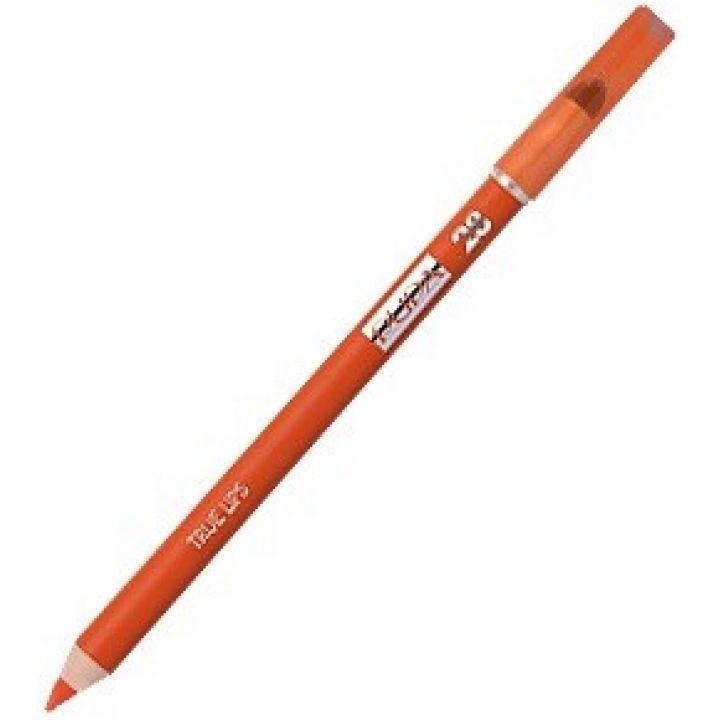 Карандаш для губ PUPA True Lips № 28 Orange / Оранжевый