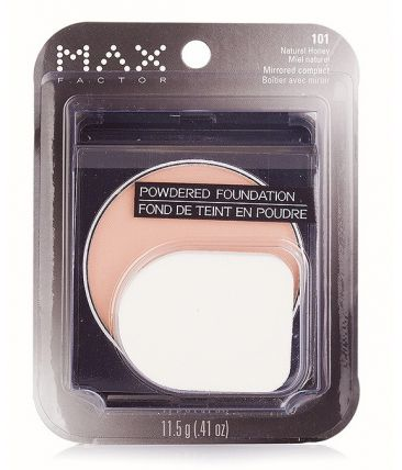 Пудра MaxFactor Powdered Foundation Mirrored Compact № 101 Natural Hioney / Натуральный Мед