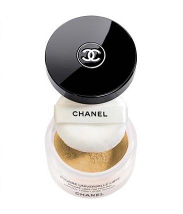 Пудра Chanel Poudre Universelle Libre № 40 Dore - Translucent / Золотистый Полупрозрачный