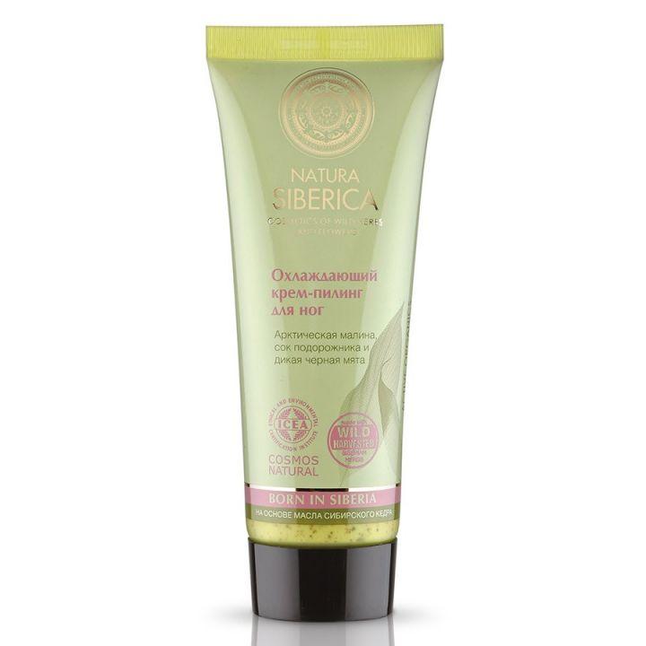 Natura Siberica Natural&Organic Охлаждающий крем-пилинг для ног