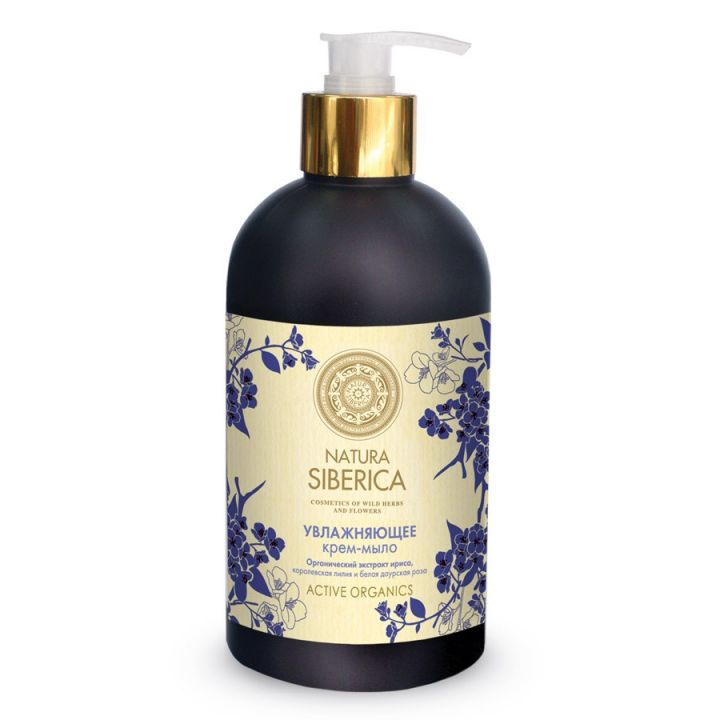 Natura Siberica Natural&Organic Крем-мыло увлажняющее
