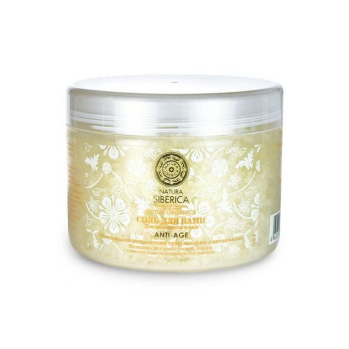 Natura Siberica Natural&Organic Соль для ванн ANTI-AGE