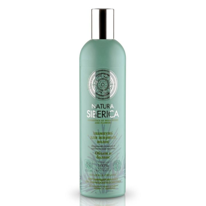 Natura Siberica Natural&Organic Шампунь для жирных волос