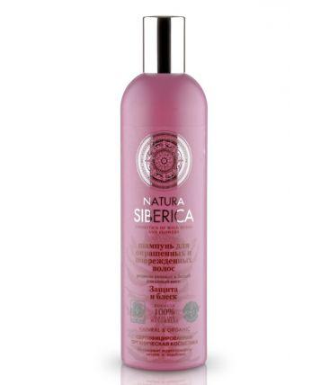 Natura Siberica Natural&Organic Шампунь для окрашенных и поврежденных волос