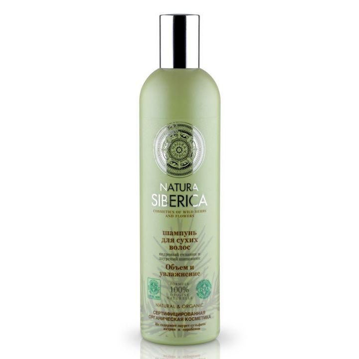 Natura Siberica Natural&Organic Шампунь для сухих волос Объем и Увлажнение