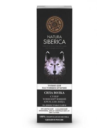 Natura Siberica Men Супер тонизирующий крем для лица «Сила Волка»