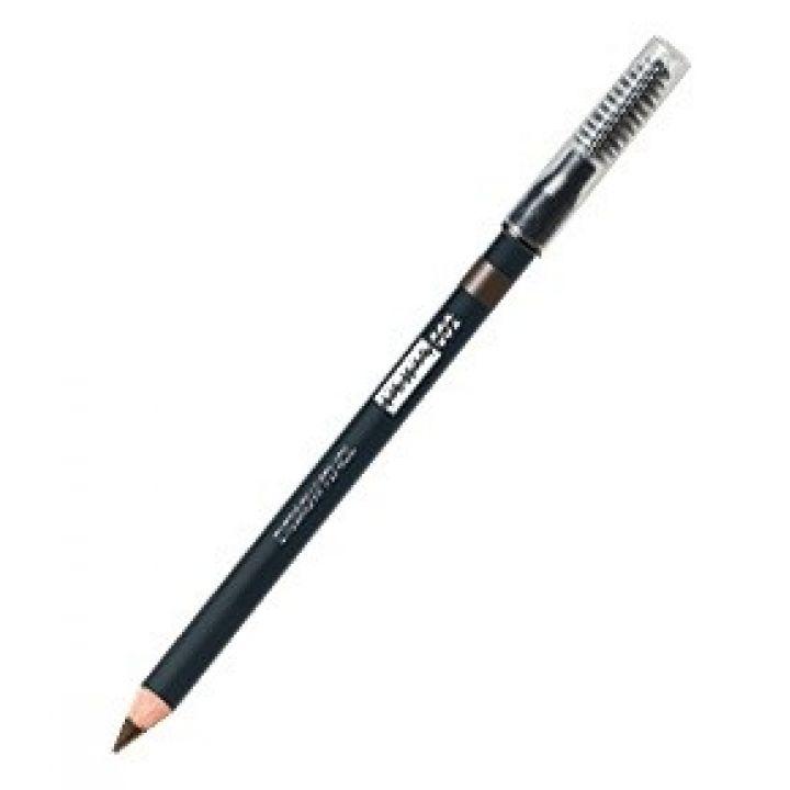 Карандаш для бровей PUPA Eyebrow Pencil № 02 Brown / Шатенка