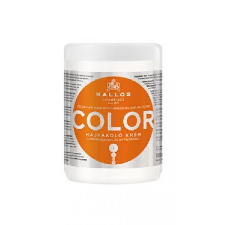 Маска Kallos Color / С льняным маслом