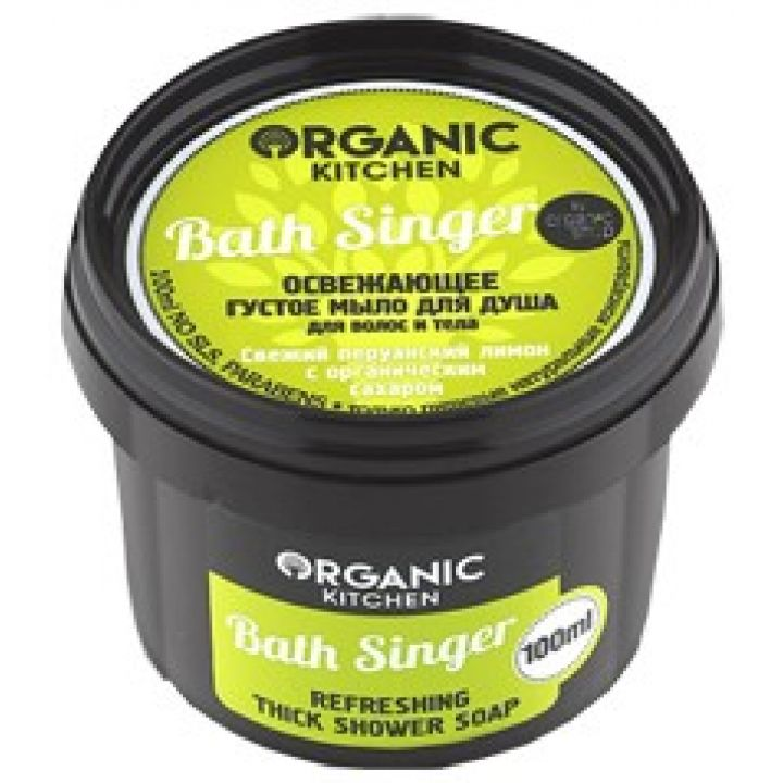 Освежающее густое мыло для душа BATH SINGER для волос и тела